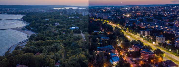 drone-footage-transition-day-to-night